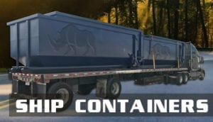 Roll off containers shipped all over the United States.